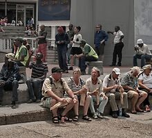 Tourists (French?) by awefaul