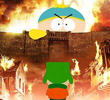 Attack on cartman by NejiHyugguh
