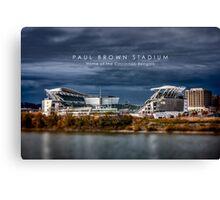 Paul Brown Stadium Canvas Print