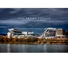 Paul Brown Stadium Photographic Print