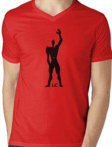 Modulor Le Corbusier Architecture T shirt Mens V-Neck T-Shirt
