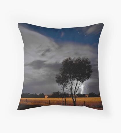 Western Australia country Lightening 2 Throw Pillow