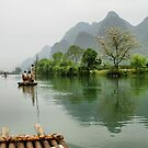 The peaceful Yulong river by Robyn Lakeman