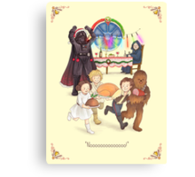 Curse those thieving, silent Jedi Knights (and on Christmas too!) Canvas Print