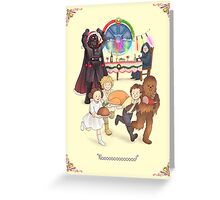 Curse those thieving, silent Jedi Knights (and on Christmas too!) Greeting Card