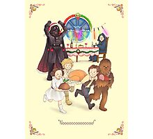 Curse those thieving, silent Jedi Knights (and on Christmas too!) Photographic Print