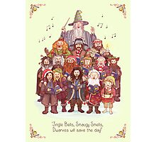 The loudest carollers in Middle Earth Photographic Print