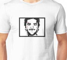 Dexter mono color with blood spots Unisex T-Shirt