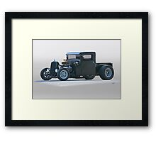 1932 Ford Rat 'Brute Force' Rod Pickup Framed Print