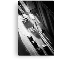 White Car Canvas Print