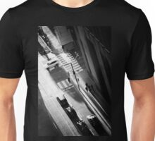 White Car Unisex T-Shirt