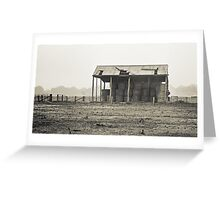 Hay Shed Greeting Card