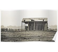 Hay Shed Poster