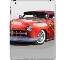 1950 Mercury Custom 'Rode Hard, Put Away Wet' iPad Case/Skin