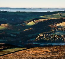 November Morning on Highlow Bank by John Dunbar