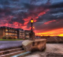 Ryde Esplanade Sunset by manateevoyager