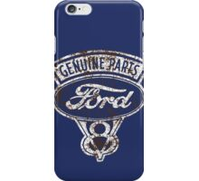 Oil Stained Ford Sign iPhone Case/Skin