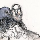 Dove Love 3 by WoolleyWorld