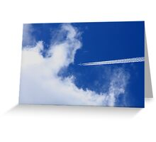 Airline  Greeting Card