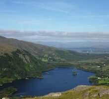 Glanmore Lake from the Healy Pass by JurassicJohn