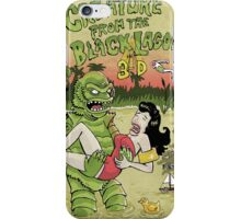 Creature from the black lagoon 3d iPhone Case/Skin