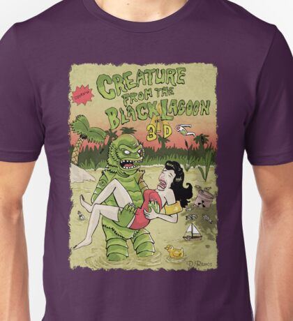 Creature from the black lagoon 3d Unisex T-Shirt