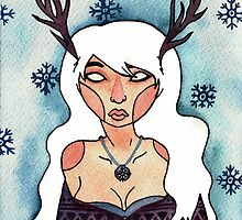 Deer Lady by Jazmine Phillips