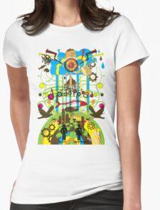 Shangri-La Womens Fitted T-Shirt