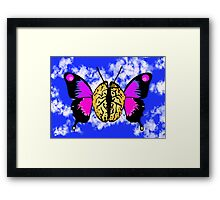 Visualize! Dream! Spread Your Mind's Wings Framed Print