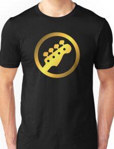 Gold Bass Unisex T-Shirt