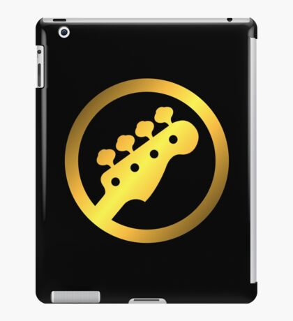 Gold Bass iPad Case/Skin