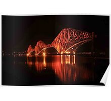 Forth Rail Bridge Poster