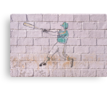 Homerun Canvas Print