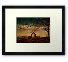 Mountaintop Serenity Framed Print