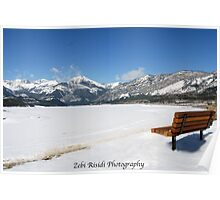 Lonesome Bench….. Poster