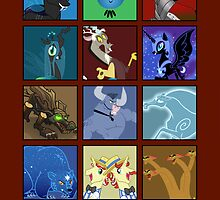 MLP - Antagonists and Monsters by BowserBasher