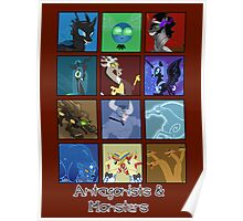 MLP - Antagonists and Monsters Poster