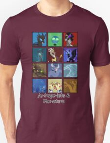 MLP - Antagonists and Monsters T-Shirt