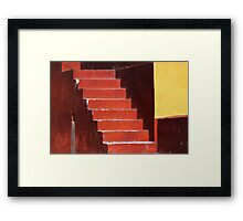 Everywhere is walking distance if you have the time.. Framed Print