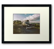 Cruising into the weekend  Framed Print