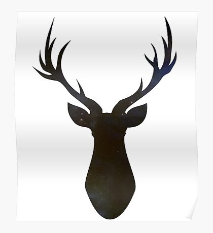 Stag (Stars) Poster