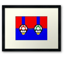 Grow up and Get a Life Framed Print