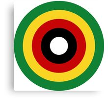 Zimbabwe Air Force Roundel  Canvas Print