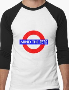 Mind the Pets Men's Baseball ¾ T-Shirt