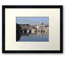 The View from Ponte Umberto Framed Print