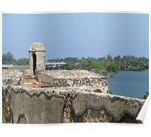 Batticaloa Fort, Sri Lanka Poster