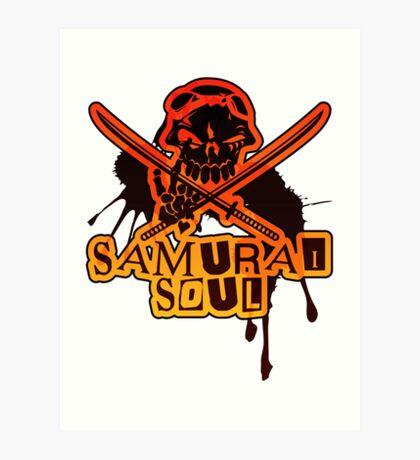 SAMURAI_SOUL Art Print