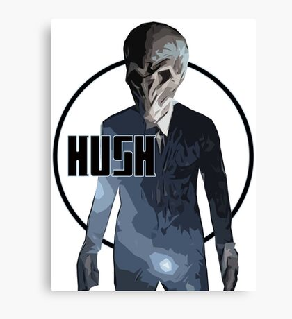 Dr Who - Hush (Silence) Canvas Print