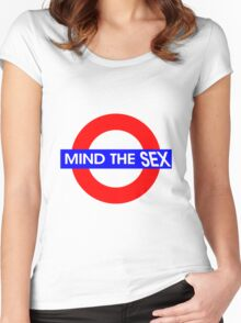 Mind the Sex Women's Fitted Scoop T-Shirt