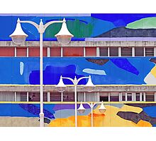 Streetlights and Colours Photographic Print